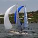 'Wailea' - Beneteau 40.7 & 'Stormaway' - Sydney 36 (white spinnaker) by Ebroh