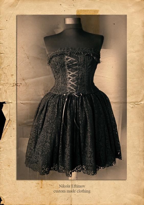 Dark Lolita ensemble