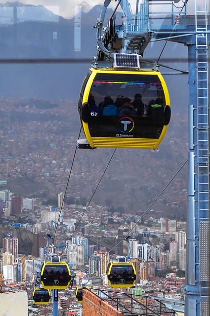 """""""Mi teleférico"""" 2 La Paz, BOlivia"""