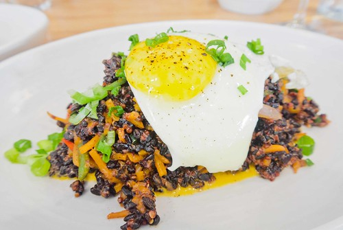 Fried Black Rice