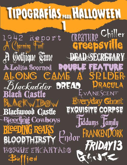 Tipografias-Halloween