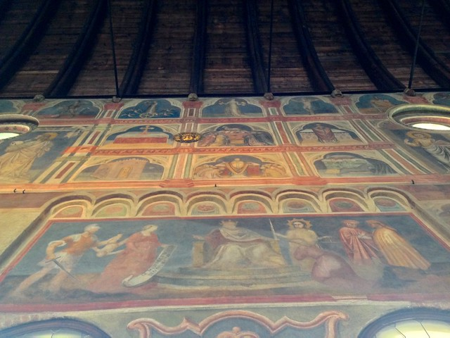 Frescoes in the Palace of Reason