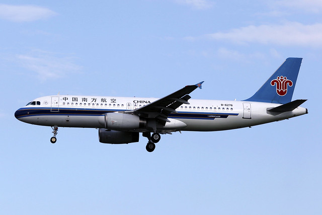 B-6276 | China Southern Airlines | Airbus A320-232 | PEK
