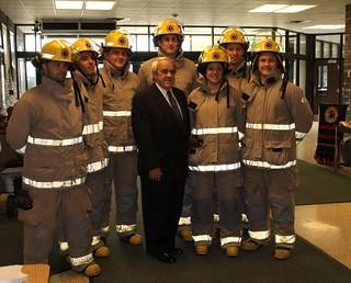Pre-Fire Service Students, Dr. John Strasser