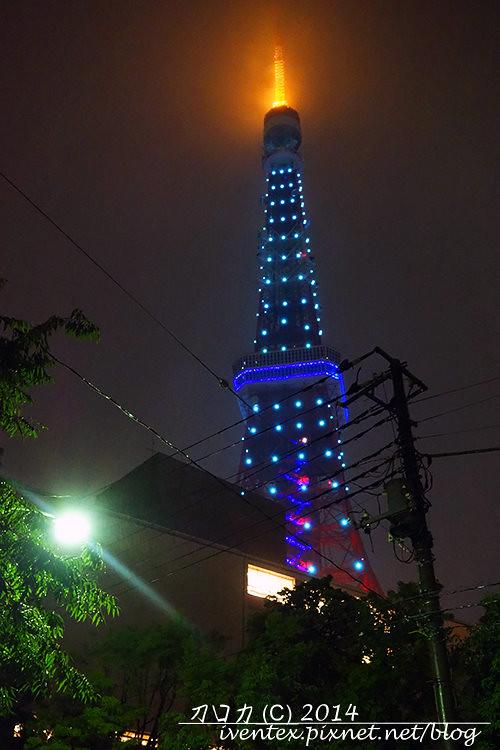 25刀口力日本東京鐵塔