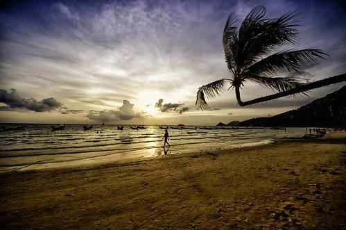 sunset kohtao tailândia