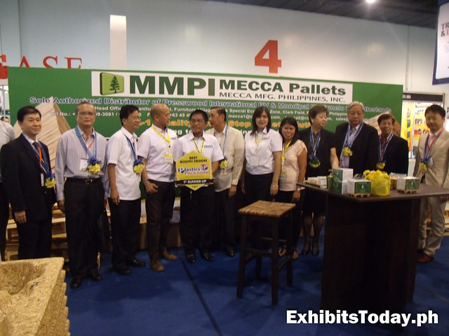 MMPI Mecca Pallets exhibit stand