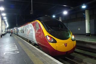 Virgin Trains 390020, Euston