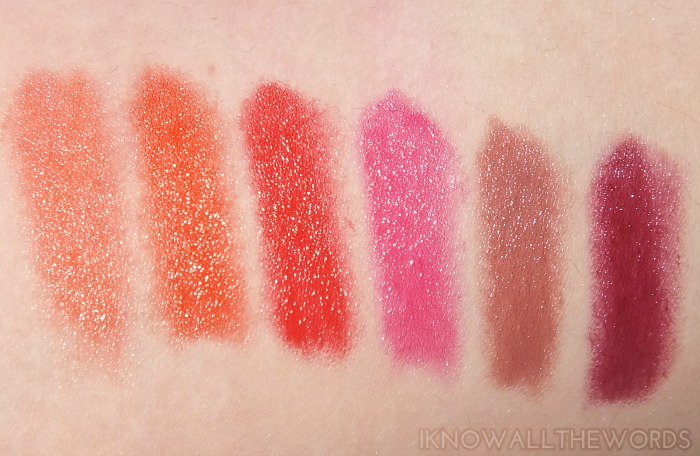 Yves Rocher Sheer Botanical Lipstick Swatches