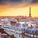 Golden hour in Paris by Alex Cican