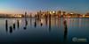 First Light at Carlton Wharf