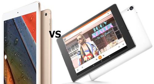Дисплей iPad Air 2 и Nexus 9