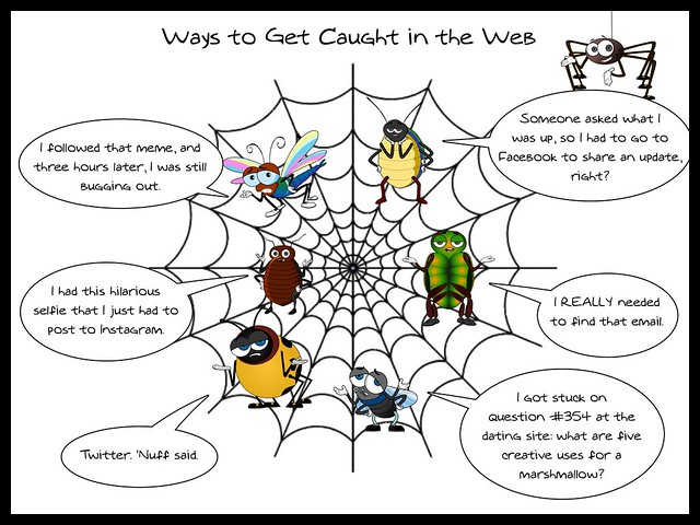 Ways to get caught in the Web #ccourses