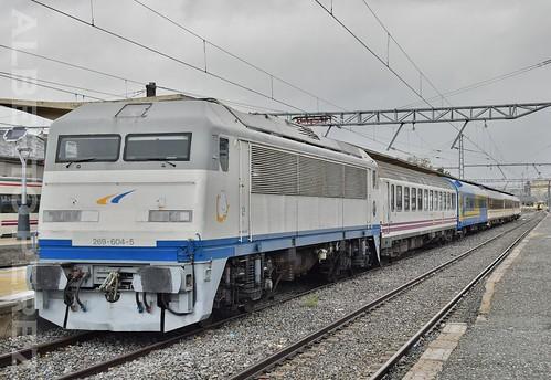 Tren de Los 80 en Avila....(269.604)