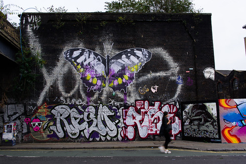 graffiti - butterfly