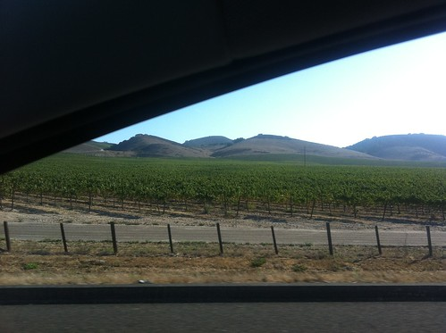 Driving Central Cali Coast Wine Country