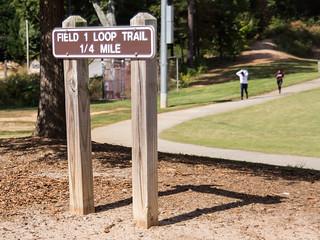 Field 1 loop trail