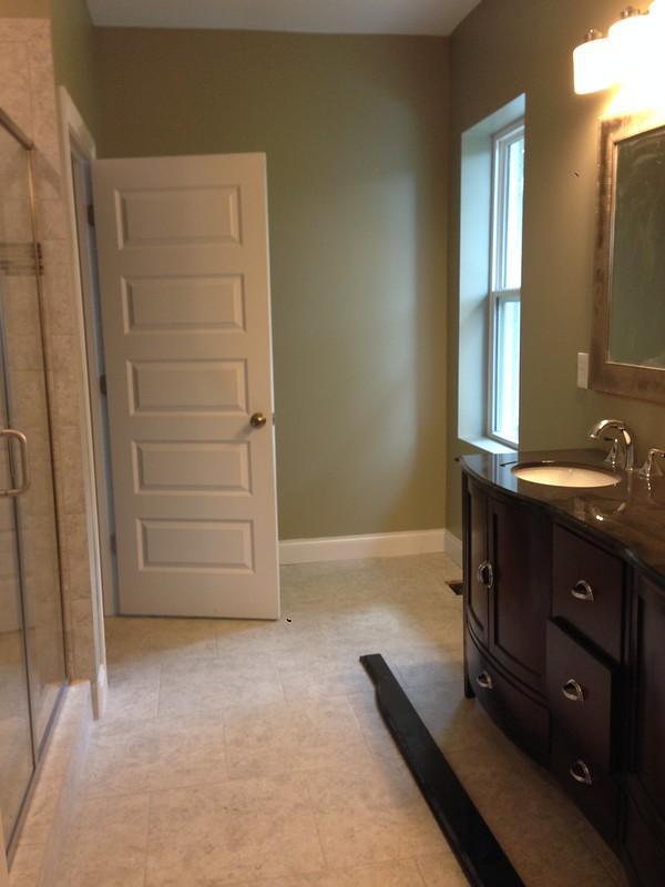 Master Bathroom - The open door is the toilet