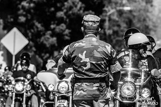 Bikers at Tehachapi Rally