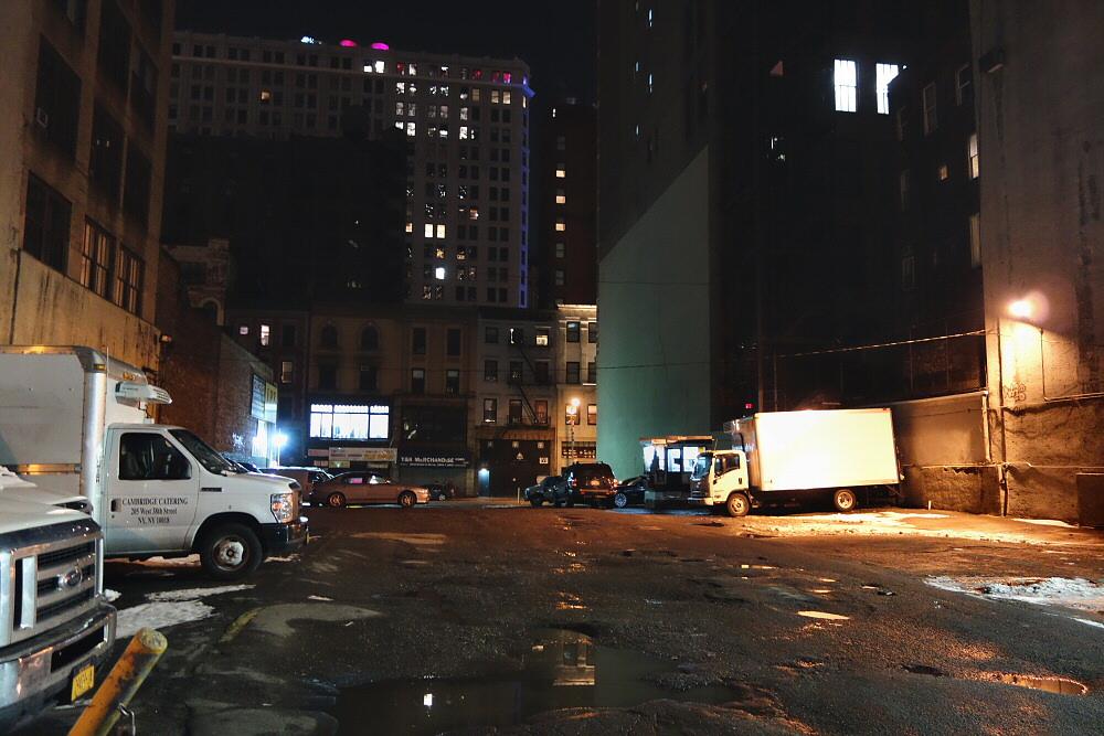 Zaczepiać bary na Manhattanie