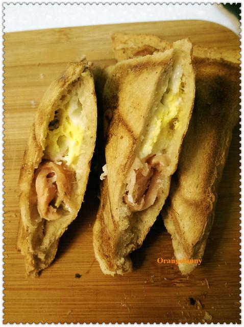 141017 煙燻鮭魚蛋烤三明治-02