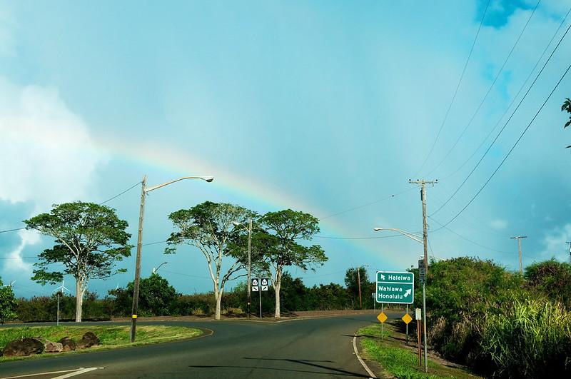 driving Oahu
