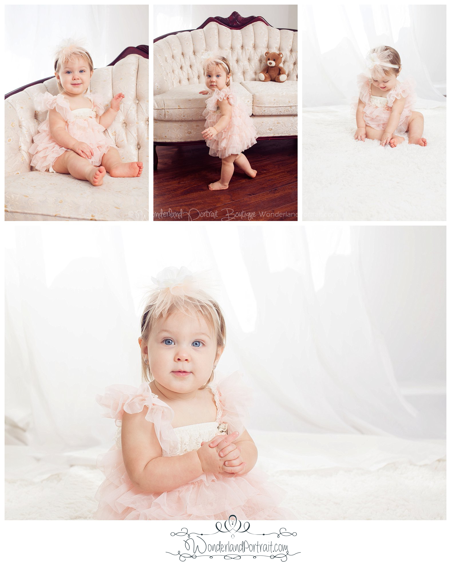 Bucks County Cake Smash & First Birthday Photographer www.WonderlandPortrait.com Wonderland Portrait Boutique Feasterville PA