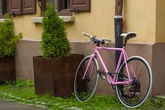 Girls bike: simply pink!