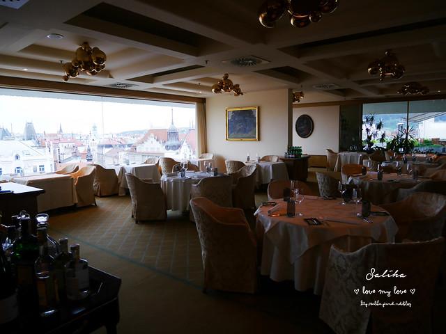 布拉格夜景景觀餐廳推薦洲際酒店晚餐 (2)