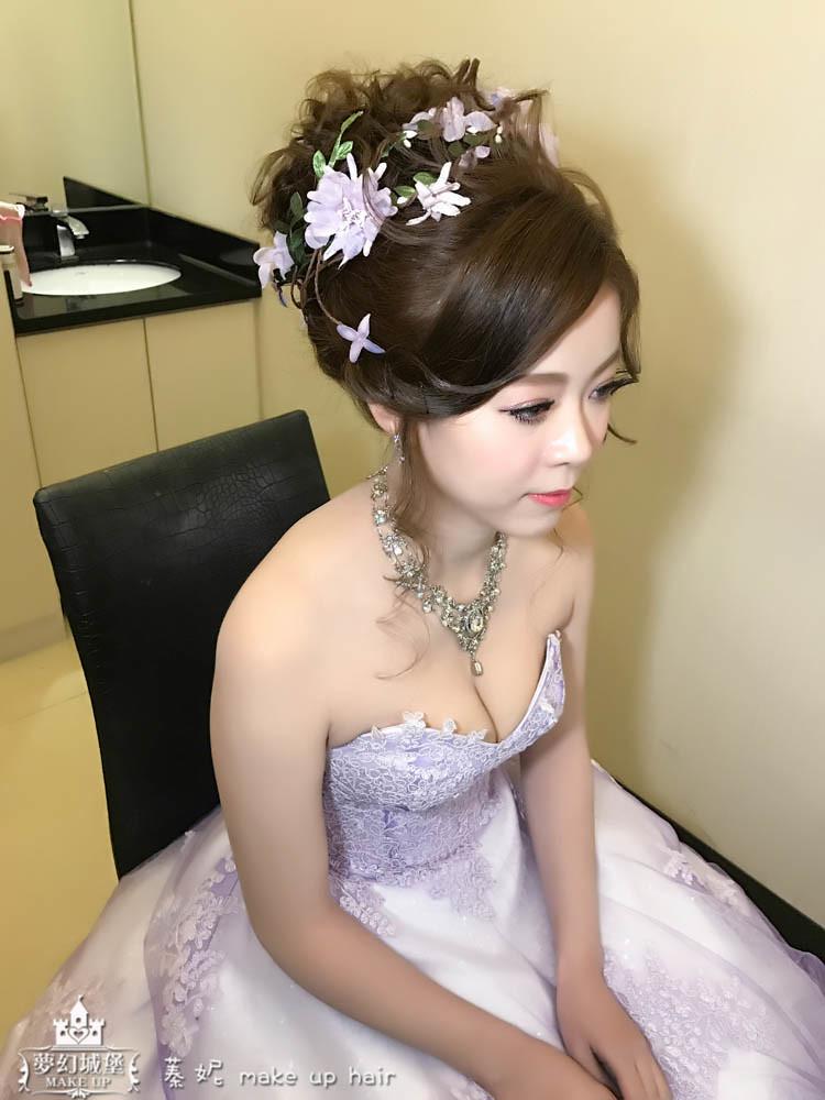 【新秘蓁妮】bride宜霈 歸寧造型 / 大里菊園婚宴會館