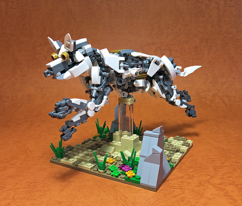LEGO Mech Coyote (custom built Lego model)