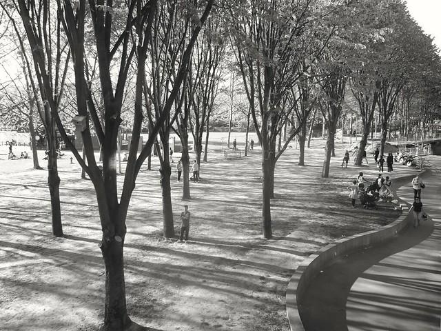 Un dimanche ensoleillé à Paris.. A sunny sunday in Paris..