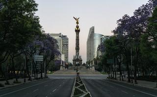 El Ángel de la independencia, Mexico City