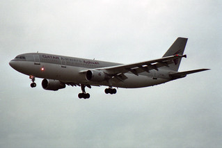 Qatar Airways Airbus A300B4-622R A7-ABN