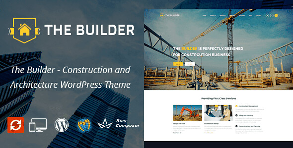 The Builder WordPress Theme free download