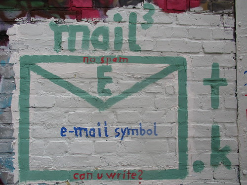 e-mail symbol #IDN -_- can you write?
