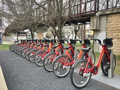 Capital Bikeshare - River Road and the Capital Crescent Trail