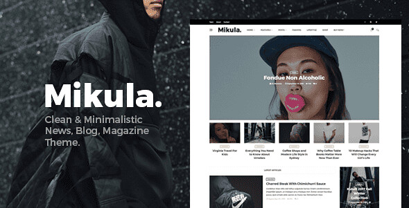 Mikula WordPress Theme free download