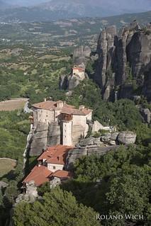 Meteora - Rousanu Monastery