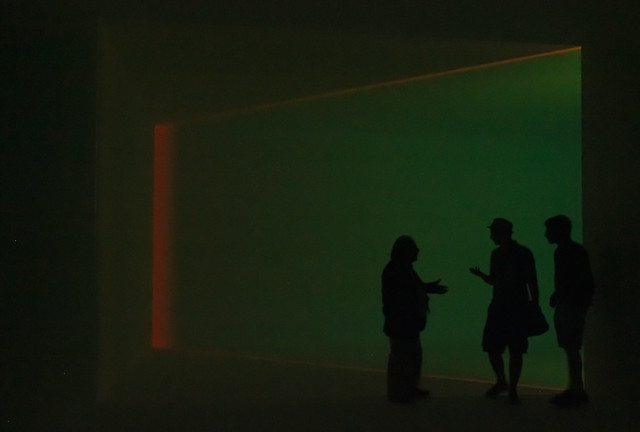 "James Turrell, ""Key Lime"""