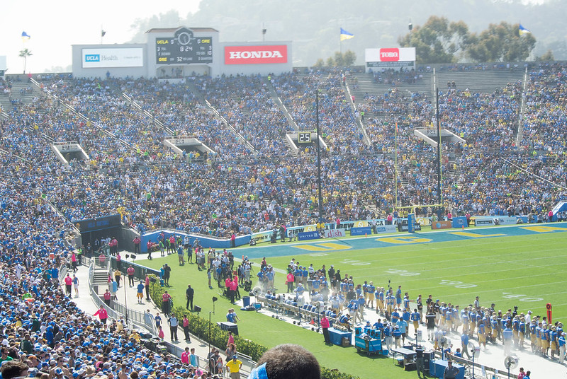 UCLA at Rose Bowl Stadium