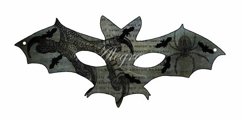 Printable Bat Mask - Alegreya