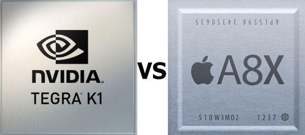 Сравнение Tegra K1 и Apple A8X