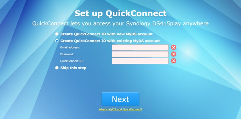 Synology DiskStation - Step 3