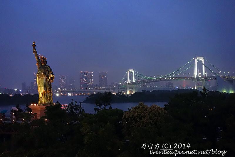 33日本東京台場彩虹大橋