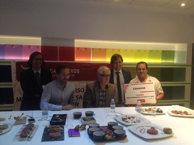 Ganador Concurso Mejor Hamburguesa de Castilla y León 2014