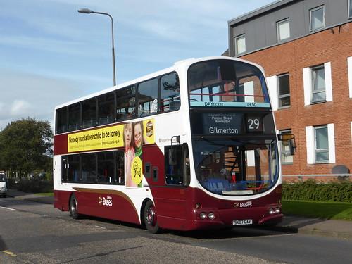 Lothian Buses 830 SK07CAV Ferry Road