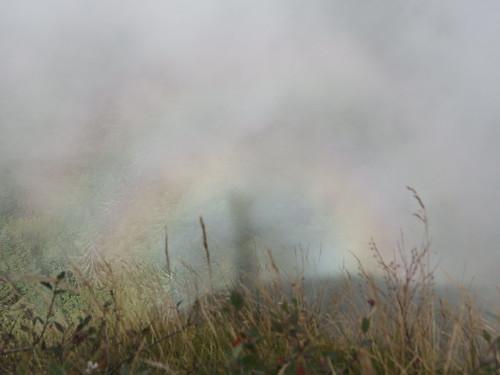 Brocken spectre @ Hike to Croix du Nivolet