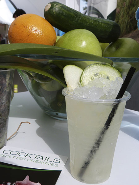 cocktail pomme