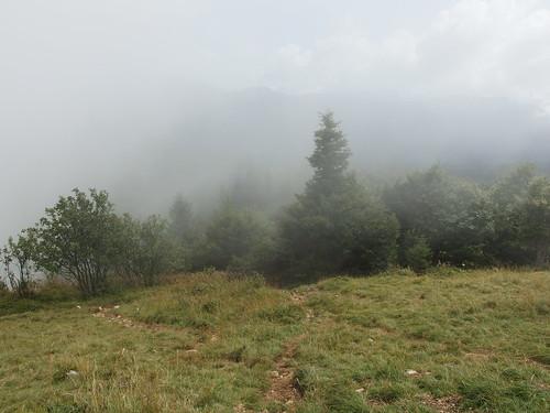 Fog @ Hike to Croix du Nivolet